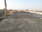 Concreting of bridge slabs at the bridges