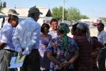 16 августа 2011 г. Встреча группы Всемирного банка  с собственниками в пос. Кажимукан