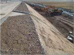 Embankment slope – Км 87