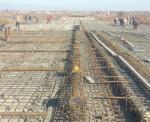 Reinforcement of  slab for bridge at PK106
