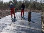 105 km, culvert waterproofing